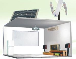 solar switch home power system